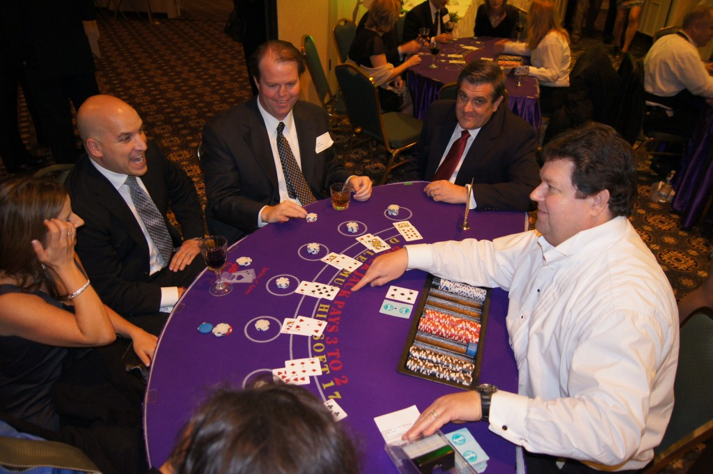 Full Action at the Blackjack Table