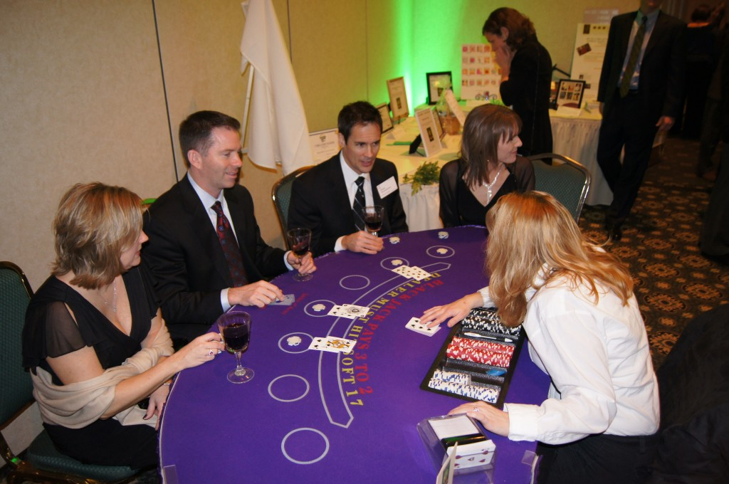 Action at the Blackjack Table