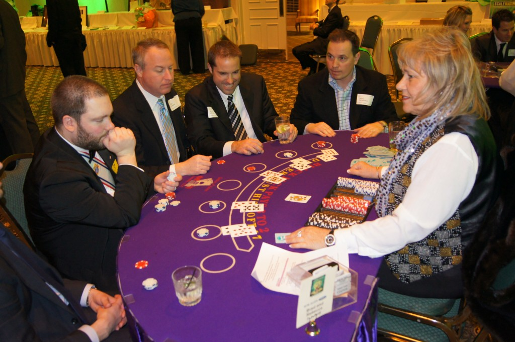 Full Blackjack Table