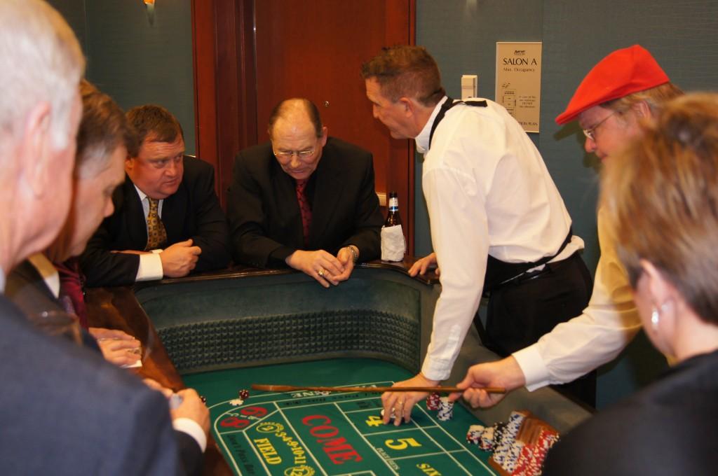 Casino Party Craps Dealer