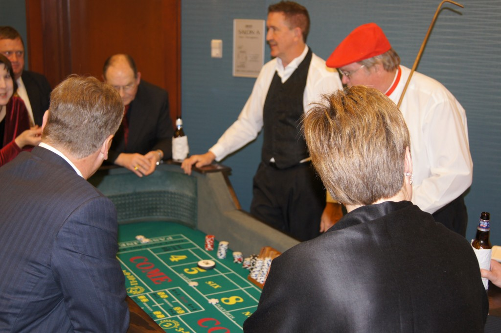 Casino Party Craps Dealers