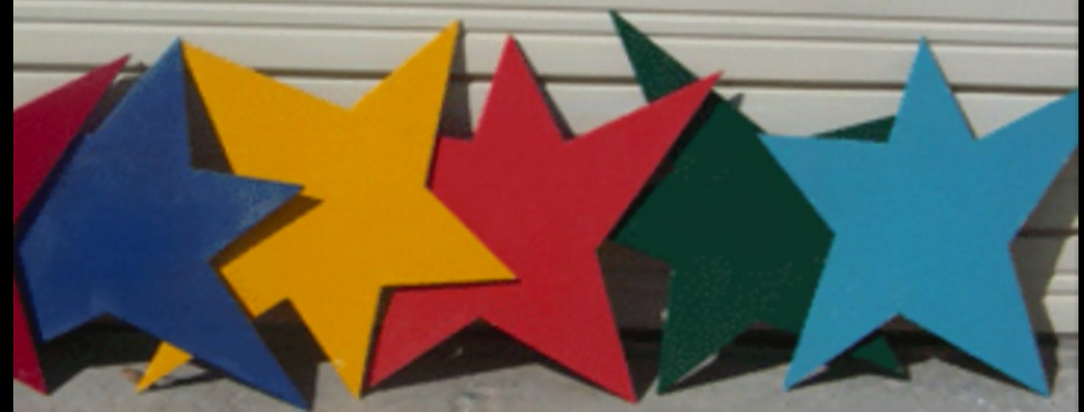 Party Decoration Props - Stars