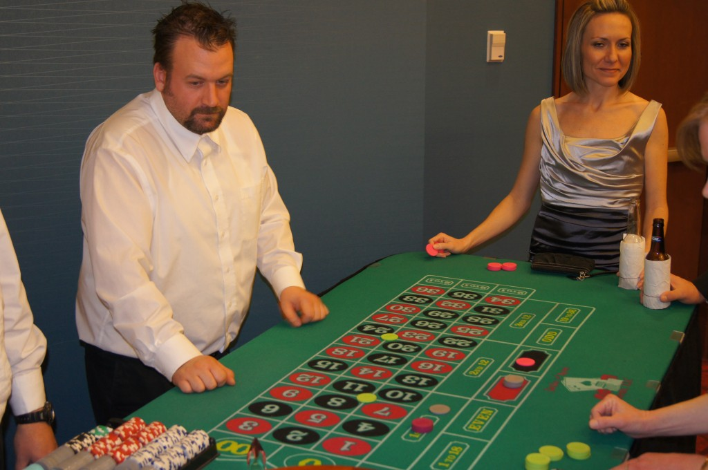 Roulette Table - Jacks and Aces Events