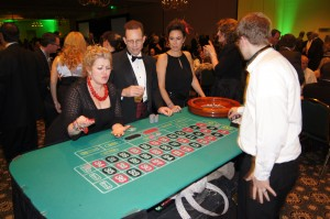 aces and eights casino nights party
