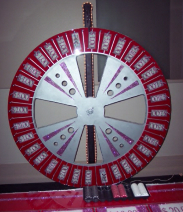 Money Wheel for your casino night party