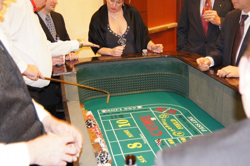 Casino Party Craps Table