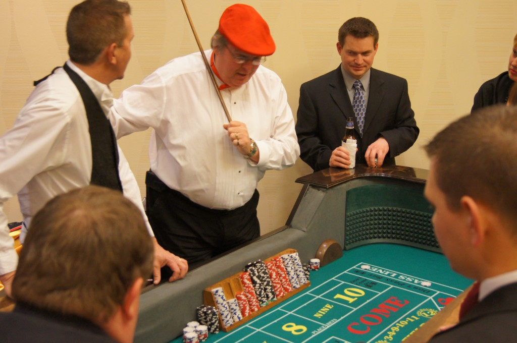 Casino Party Craps Dealer - Red Hat