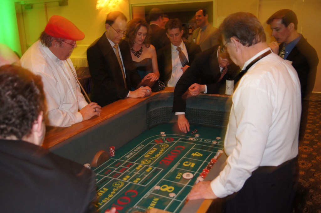 Casino Party Craps Dealers