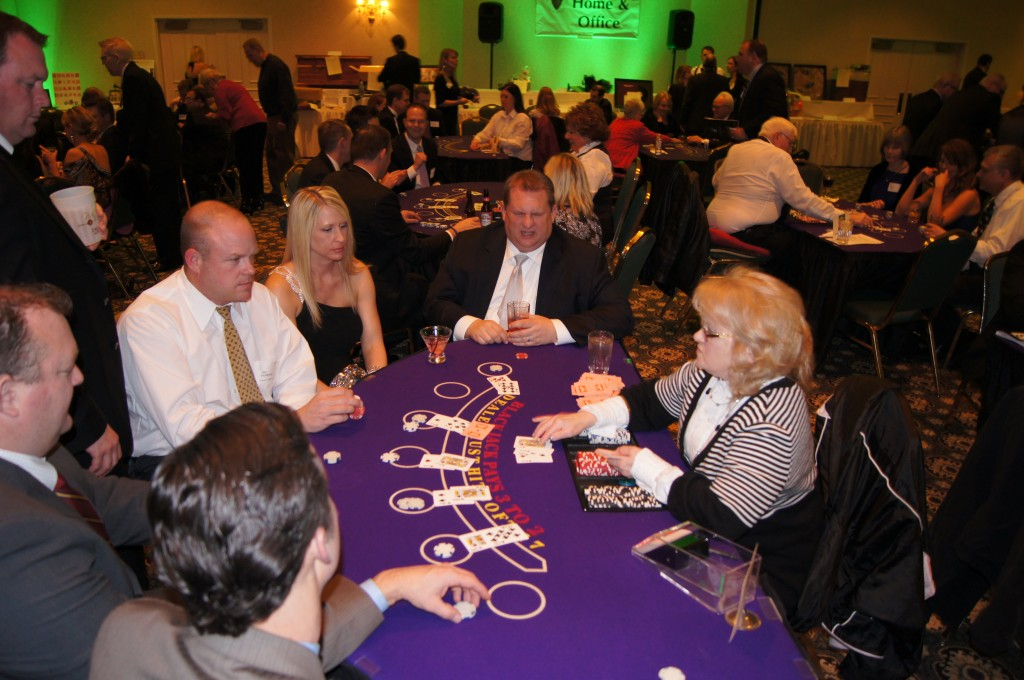 Full Blackjack Table Action