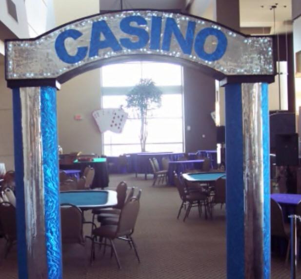 Casino Entrance for Casino Party