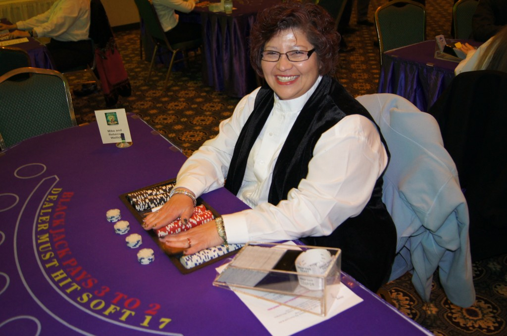 A friendly, professional Jacks and Aces Dealer