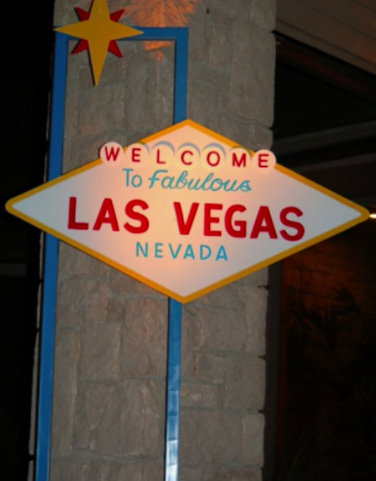 Welcome to Las Vegas Party Prop